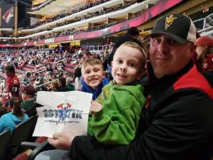 Robert attended Arizona Coyotes vs. Florida Panthers - NHL on Feb 25th 2020 via VetTix