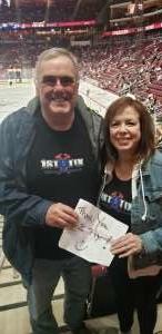 Joel attended Arizona Coyotes vs. Florida Panthers - NHL on Feb 25th 2020 via VetTix