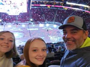 Brian attended Arizona Coyotes vs. Florida Panthers - NHL on Feb 25th 2020 via VetTix