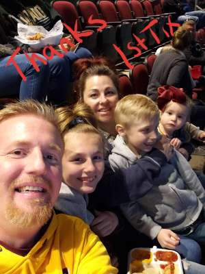 Jeff attended Arizona Coyotes vs. Florida Panthers - NHL on Feb 25th 2020 via VetTix