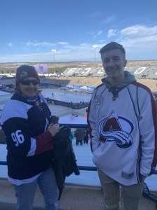 Susann attended 2020 Navy Federal Credit Union NHL Stadium Series - Los Angeles Kings vs. Colorado Avalanche on Feb 15th 2020 via VetTix