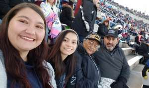 Anthony attended 2020 Navy Federal Credit Union NHL Stadium Series - Los Angeles Kings vs. Colorado Avalanche on Feb 15th 2020 via VetTix