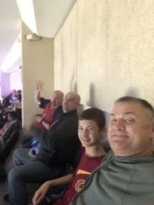 Joe attended Cleveland Cavaliers vs. Chicago Bulls - NBA on Jan 25th 2020 via VetTix