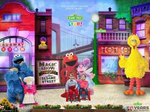 karina attended Sesame Street Live! Make Your Magic on Feb 14th 2020 via VetTix