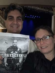 Gulhan attended Ron White on Feb 13th 2020 via VetTix