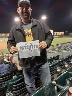 Garry attended Arizona State University Sun Devils vs. Oklahoma State Cowboys - NCAA Baseball on Feb 18th 2020 via VetTix