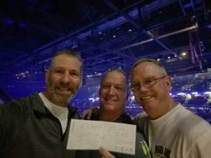 Robert attended The Night Before With Zac Brown Band on Feb 1st 2020 via VetTix