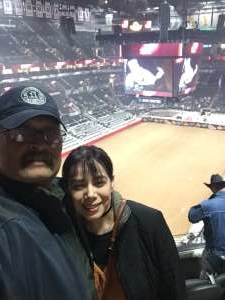 Emmanuel  attended San Antonio PRCA Rodeo Followed by Colter Wall on Feb 12th 2020 via VetTix