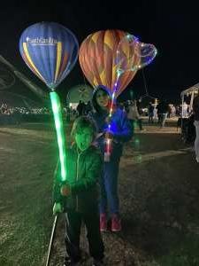 Casey attended Fredericksburg Valentine's Weekend & Hot Air Balloon Experience on Feb 15th 2020 via VetTix