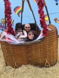 Bryan attended Fredericksburg Valentine's Weekend & Hot Air Balloon Experience on Feb 15th 2020 via VetTix