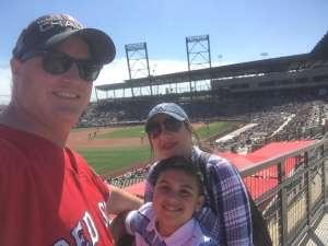 Forrest attended Colorado Rockies vs. Los Angeles Angels - MLB ** Spring Training ** on Mar 1st 2020 via VetTix