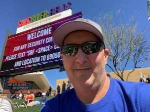 Chris attended Colorado Rockies vs. Los Angeles Angels - MLB ** Spring Training ** on Mar 1st 2020 via VetTix