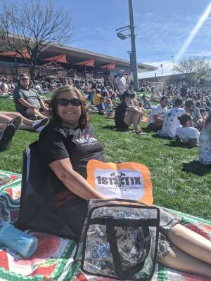 Michelle attended Colorado Rockies vs. Los Angeles Angels - MLB ** Spring Training ** on Mar 1st 2020 via VetTix