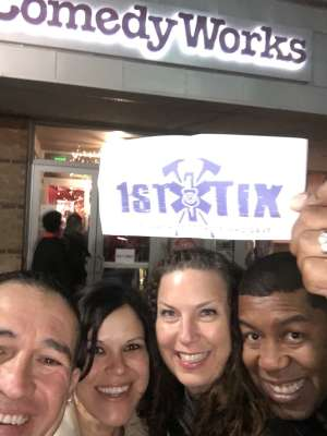Fadil attended Comedy Works South at the Landmark on Feb 16th 2020 via VetTix