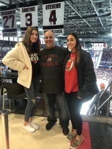 Frank attended New Jersey Devils vs. Detroit Red Wings - NHL on Feb 13th 2020 via VetTix