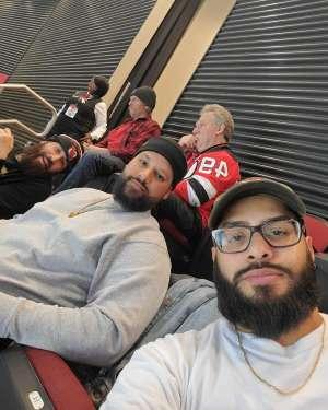 Jonathan attended New Jersey Devils vs. Detroit Red Wings - NHL on Feb 13th 2020 via VetTix