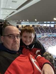 Charles attended New Jersey Devils vs. Detroit Red Wings - NHL on Feb 13th 2020 via VetTix