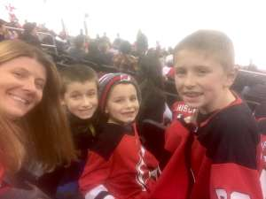 Carolyn attended New Jersey Devils vs. Detroit Red Wings - NHL on Feb 13th 2020 via VetTix