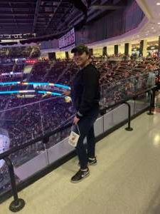 lyanne attended New Jersey Devils vs. Detroit Red Wings - NHL on Feb 13th 2020 via VetTix