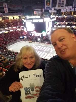 Jeffrey attended New Jersey Devils vs. Detroit Red Wings - NHL on Feb 13th 2020 via VetTix