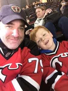 Nick attended New Jersey Devils vs. Columbus Blue Jackets on Feb 16th 2020 via VetTix