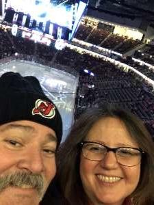 Theresa attended New Jersey Devils vs. Columbus Blue Jackets on Feb 16th 2020 via VetTix
