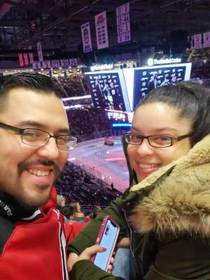 Cesar attended New Jersey Devils vs. Columbus Blue Jackets on Feb 16th 2020 via VetTix