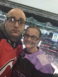 Chris attended New Jersey Devils vs. Columbus Blue Jackets on Feb 16th 2020 via VetTix