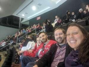 LISA attended New Jersey Devils vs. Columbus Blue Jackets on Feb 16th 2020 via VetTix