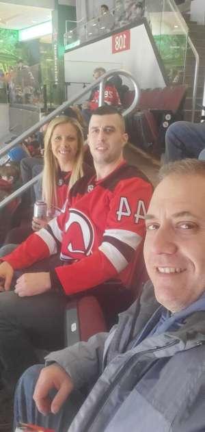 Larry attended New Jersey Devils vs. Columbus Blue Jackets on Feb 16th 2020 via VetTix