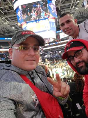 Benny  attended Washington Wizards vs. Chicago Bulls - NBA on Feb 11th 2020 via VetTix