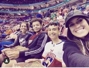 Kristy attended Florida Panthers vs. Philadelphia Flyers - NHL on Feb 13th 2020 via VetTix