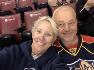 Rebecca attended Florida Panthers vs. Philadelphia Flyers - NHL on Feb 13th 2020 via VetTix