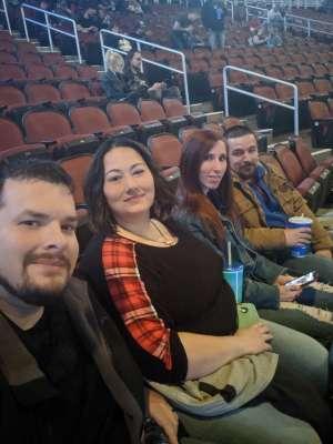 Nicholas attended Korn & Breaking Benjamin on Feb 16th 2020 via VetTix