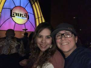 Gina attended Laugh Factory on Feb 14th 2020 via VetTix