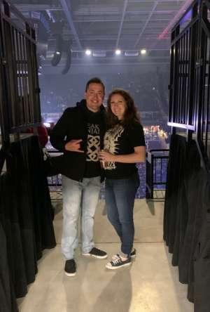 Nathan attended Korn & Breaking Benjamin Winter Tour on Feb 13th 2020 via VetTix