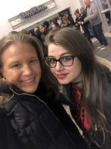 Jessica attended Korn & Breaking Benjamin Winter Tour on Feb 13th 2020 via VetTix
