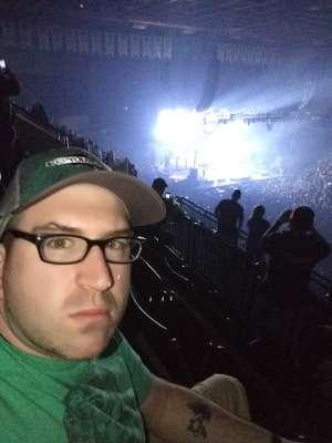 Patrick attended Korn & Breaking Benjamin Winter Tour on Feb 13th 2020 via VetTix