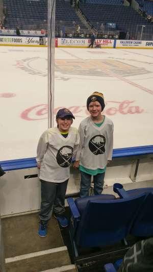 Kale attended Buffalo Sabres vs. Columbus Blue Jackets - NHL on Feb 13th 2020 via VetTix