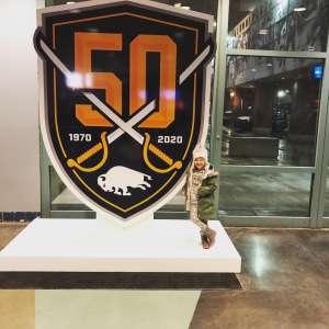 Michael attended Buffalo Sabres vs. Columbus Blue Jackets - NHL on Feb 13th 2020 via VetTix