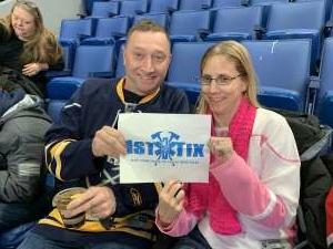 Owen attended Buffalo Sabres vs. Columbus Blue Jackets - NHL on Feb 13th 2020 via VetTix