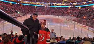Erwin attended New Jersey Devils vs. San Jose Sharks on Feb 20th 2020 via VetTix
