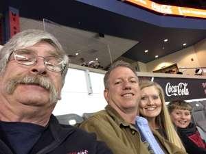 Lee attended Rapid City Rush vs Tulsa Oilers - ECHL on Feb 29th 2020 via VetTix