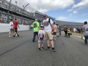 Brandon attended 62nd Daytona 500 With Fan Zone Passes - NASCAR on Feb 16th 2020 via VetTix