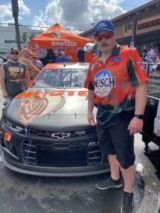 Justin attended Daytona 500 - NASCAR Monster Energy Series on Feb 16th 2020 via VetTix
