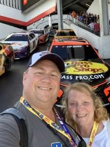 Bryan attended Daytona 500 - NASCAR Monster Energy Series on Feb 16th 2020 via VetTix