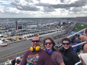 Jeff attended Daytona 500 - NASCAR Monster Energy Series on Feb 16th 2020 via VetTix