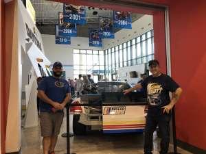 John attended Daytona 500 - NASCAR Monster Energy Series on Feb 16th 2020 via VetTix