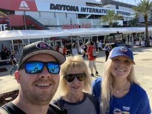 Jeffrey Jr attended Daytona 500 - NASCAR Monster Energy Series on Feb 16th 2020 via VetTix