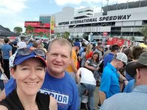 Christopher attended Daytona 500 - NASCAR Monster Energy Series on Feb 16th 2020 via VetTix